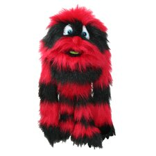 Monster Puppet in Red and Black