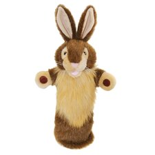 <strong>The Puppet Company</strong> Long-Sleeved Rabbit Glove Puppet in Wild