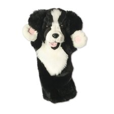Long-Sleeved Border Collie Glove Puppet