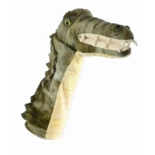 Long-Sleeved Crocodile Glove Puppet