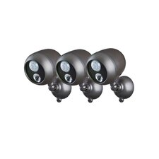 <strong>Mr. Beams</strong> Outdoor Security Spotlight (Set of 3)