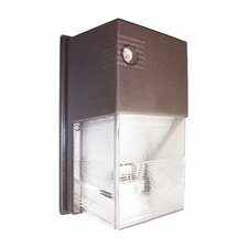 70W Polycarbonate Mini Wall Light in Bronze