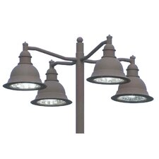 Belltino 200W Outdoor Pendant in Dark Bronze