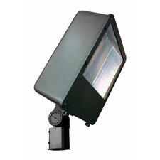 200W Induction Post Mount Lamp in Bronze