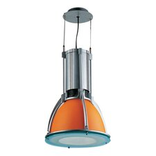 Orion 40w Ceiling Light in Orange