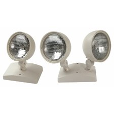 9W Round Remote Double Lamp Head