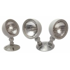 Weatherproof Double Remote Lamp Heads
