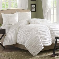 <strong>Madison Park</strong> Delancey Mini 4 Piece Duvet Set
