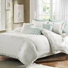 <strong>Madison Park</strong> Marlow 6 Piece Duvet Set