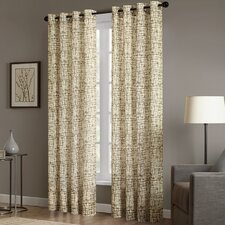 <strong>Madison Park</strong> Piccadilly Grommet Curtain Single Panel
