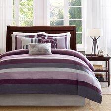 Boulder 7 Piece Polyester Comforter Set