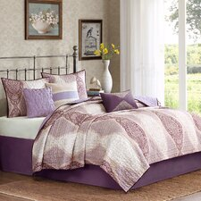 <strong>Madison Park</strong> Callaway 6 Piece Coverlet Set