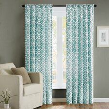 Delray Diamond Window Panel Pleated Shade
