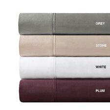 600 Thread Count Pima Solid Cotton Sheet Set
