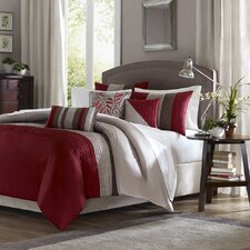 Tradewinds 6 Piece Duvet Set in Red
