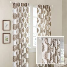 Addison Anthro Burn Out Curtain Single Panel