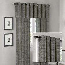<strong>Madison Park</strong> Anderson Silk Texture Grommet Window Treatment Collection