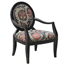 Malibu Fabric Arm Chair