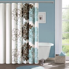 <strong>Madison Park</strong> Lola Cotton Shower Curtain