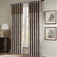 <strong>Madison Park</strong> Aubrey Rod Pocket Curtain Panel Pair (Set of 2)
