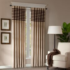 <strong>Madison Park</strong> Dune Rod Pocket Curtain Panel Pair (Set of 2)