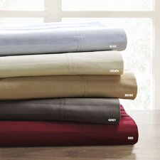 500 Thread Count Egyptian Cotton Damask Stripe Sheet Set