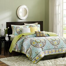 <strong>Madison Park</strong> Samara 6 Piece Coverlet Set
