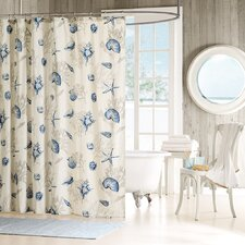 Bayside Cotton Shower Curtain