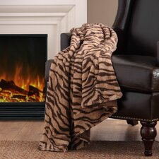 Chapman Long Fur Polyester Throw