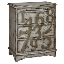Lotto 3 Drawer Chest