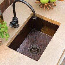 """21.5"""" x 16"""" Cocina Chica Hand Hammered Kitchen Sink"""