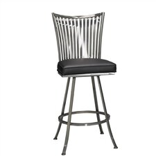 "Paralline 26"" Quick-Ship Swivel Counter Stool"