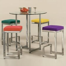 <strong>Johnston Casuals</strong> 3 Piece 4-Score Pub Table Set