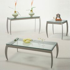 Talon Rectangular Coffee Table Set