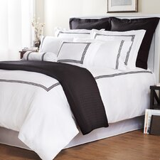 <strong>Wildon Home ®</strong> Baratto Duvet Collection with Triple Embroidered Stripes