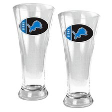 NFL 19oz. Pilsner Glass (Set of 2)