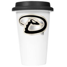 MLB 12oz Double Wall Tumbler with Black Lid