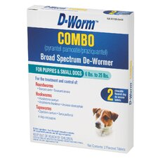 <strong>Farnam Pet</strong> D-Worm Combo Broad Spectrum