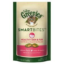 Smartbite Skin and Fur Salmon Cat Treat