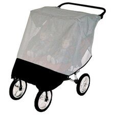 <strong>Sasha's Kiddie Products</strong> Baby Jogger City Series Double Stroller Sun, Wind and Insect Cover