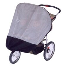 InStep and Schwinn Safari TT Double and Mall Cruiser Double Stroller Sun, Wind and Insect Cover