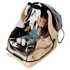 <strong>Sasha's Kiddie Products</strong> Baby Car Seat Rain and Wind