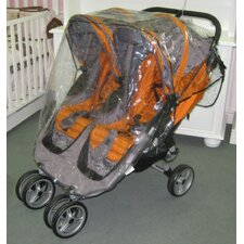 <strong>Sasha's Kiddie Products</strong> Baby Jogger City Mini Double Rain and Wind Cover