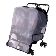 <strong>Sasha's Kiddie Products</strong> Twin Side by Side Stroller Model Sun, Wind and Insect Cover