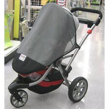 <strong>Sasha's Kiddie Products</strong> Kolcraft Contours 3 Wheeler Single Stroller Sun, Wind and Insect Cover