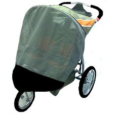 Baby Trend Double Expedition Swivel Wheel Jogger Sun, Wind and Insect