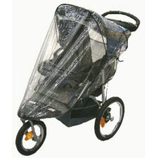 Baby Trend Single Front Swivel Wheel Expeditions, & Ride Stroller Rain and Wind