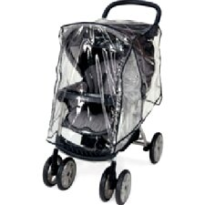 <strong>Sasha's Kiddie Products</strong> Graco Urbanlite, Metrolite, Literider, Alano, Quattro Tour, Vie4 Single Stroller Rain and Wind Cover