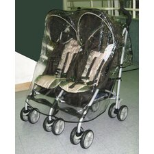 <strong>Sasha's Kiddie Products</strong> Graco Twin IPO Side by Side Double Stroller Rain and Wind Cover