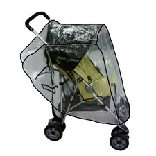 Small Lightweight Single Stroller Rain and Wind Cover